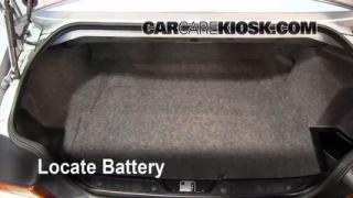Battery Replacement: 1996-2002 BMW Z3