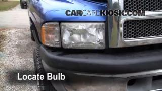 Highbeam (Brights) Change: 1994-2002 Dodge Ram 2500