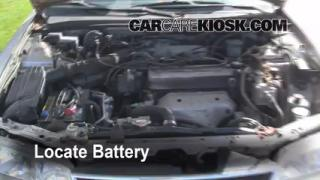 Battery Replacement: 1994-1997 Honda Accord