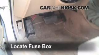 Interior Fuse Box Location: 1990-1993 Honda Accord