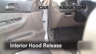Open Hood How To 1994-1997 Honda Accord