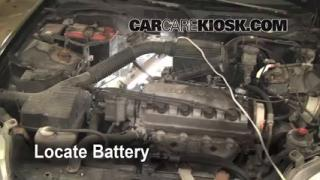 How to Clean Battery Corrosion: 1996-2000 Honda Civic