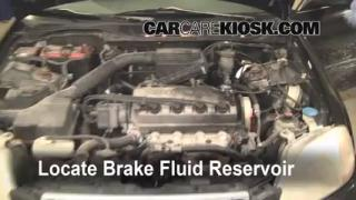 1996-2000 Honda Civic Brake Fluid Level Check