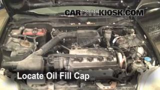 How to Add Oil Honda Civic (1996-2000)