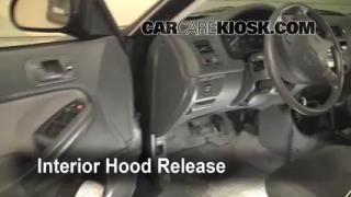 Open Hood How To 1996-2000 Honda Civic