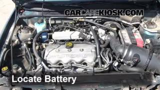 Battery Replacement: 1997-2003 Ford Escort