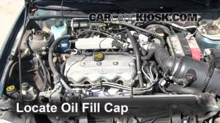 How to Add Oil Ford Escort (1997-2003)