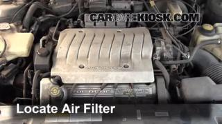 Air Filter How-To: 1995-1999 Oldsmobile Aurora