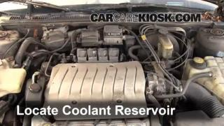 Coolant Level Check: 1995-1999 Aurora