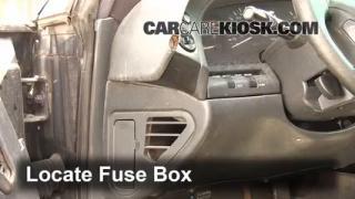1995-1999 Oldsmobile Aurora Interior Fuse Check