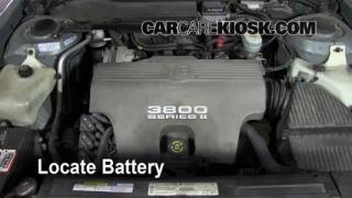 How to Clean Battery Corrosion: 1992-1999 Pontiac Bonneville