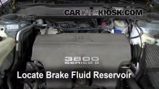 Add Brake Fluid: 1992-1999 Pontiac Bonneville