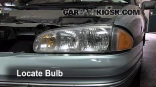Highbeam (Brights) Change: 1992-1998 Buick Skylark