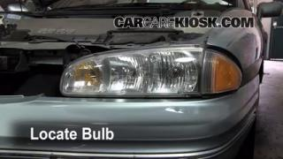 Headlight Change 1992-1999 Pontiac Bonneville