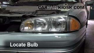 Parking Light Change 1992-1998 Buick Skylark