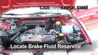 Add Brake Fluid: 1995-1999 Subaru Legacy