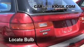 Reverse Light Replacement 1995-1999 Subaru Legacy