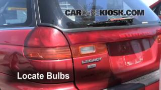 Tail Light Change 1995-1999 Subaru Legacy