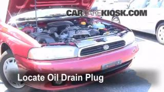 Oil & Filter Change Subaru Legacy (1995-1999)