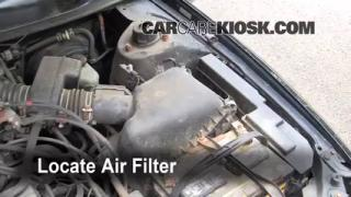 1997-2001 Toyota Camry Engine Air Filter Check