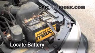 How to Clean Battery Corrosion: 1997-2001 Toyota Camry