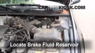 Add Brake Fluid: 1997-2001 Toyota Camry