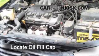How to Add Oil Toyota Camry (1997-2001)