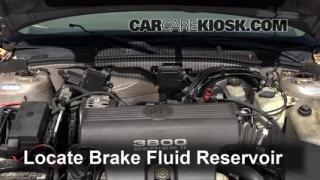 1997-2005 Buick Park Avenue Brake Fluid Level Check