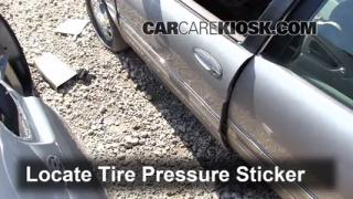 Properly Check Tire Pressure: Buick Park Avenue (1997-2005)