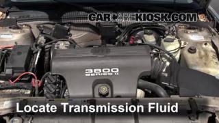 Transmission Fluid Part on 1997 Buick Lesabre Starter Location