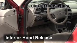 Open Hood How To 1995-2000 Ford Contour