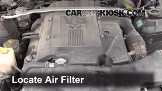 2002-2006 Infiniti Q45 Engine Air Filter Check