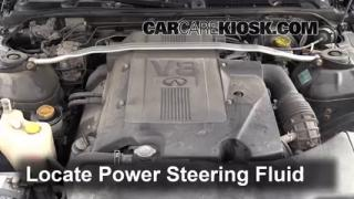 Follow These Steps to Add Power Steering Fluid to a Infiniti Q45 (2002-2006)