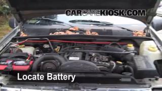Battery Replacement: 1993-1998 Jeep Grand Cherokee