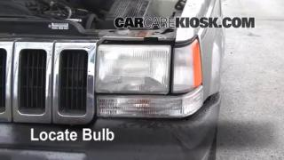 Headlight Change 1993-1998 Jeep Grand Cherokee