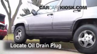 Oil & Filter Change Jeep Grand Cherokee (1993-1998)