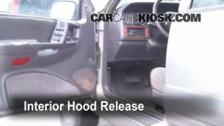 Open Hood How To 1993-1998 Jeep Grand Cherokee