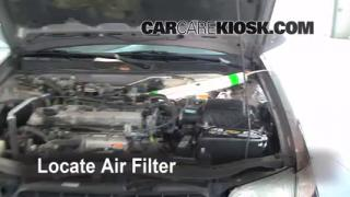 1998-2001 Nissan Altima Engine Air Filter Check