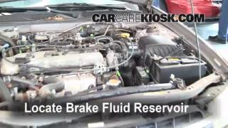 Add Brake Fluid: 1998-2001 Nissan Altima