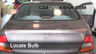 Third Brake Light Bulb Change Nissan Altima (1998-2001)