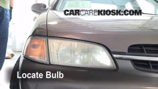 Headlight Change 1998-2001 Nissan Altima