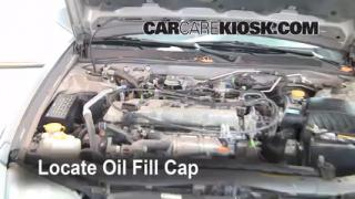 How to Add Oil Nissan Altima (1998-2001)