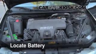 How to Clean Battery Corrosion: 1998-2002 Oldsmobile Intrigue