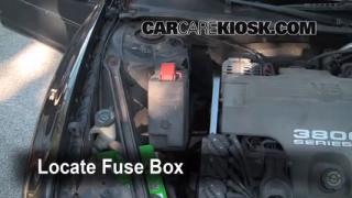 Replace a Fuse: 1998-2002 Oldsmobile Intrigue