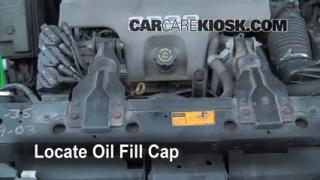 How to Add Oil Oldsmobile Intrigue (1998-2002)