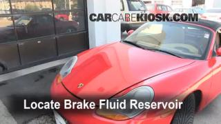 1997-2004 Porsche Boxster Brake Fluid Level Check