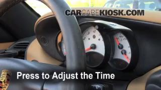 How to Set the Clock on a Porsche Boxster (1997-2004)