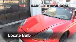 Highbeam (Brights) Change: 1997-2004 Porsche Boxster