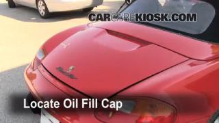 How to Add Oil Porsche Boxster (1997-2004)