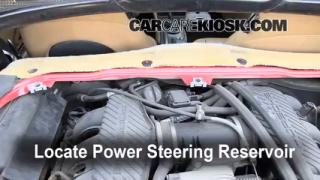 Check Power Steering Level Porsche Boxster (1997-2004)